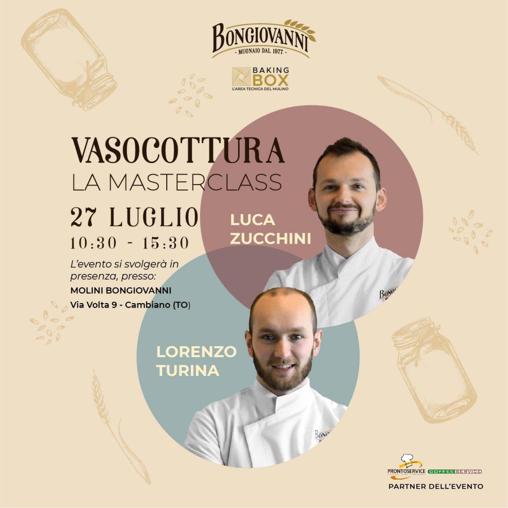 Locandina masterclass vasocottura cn luca zucchini e lorenzo turina